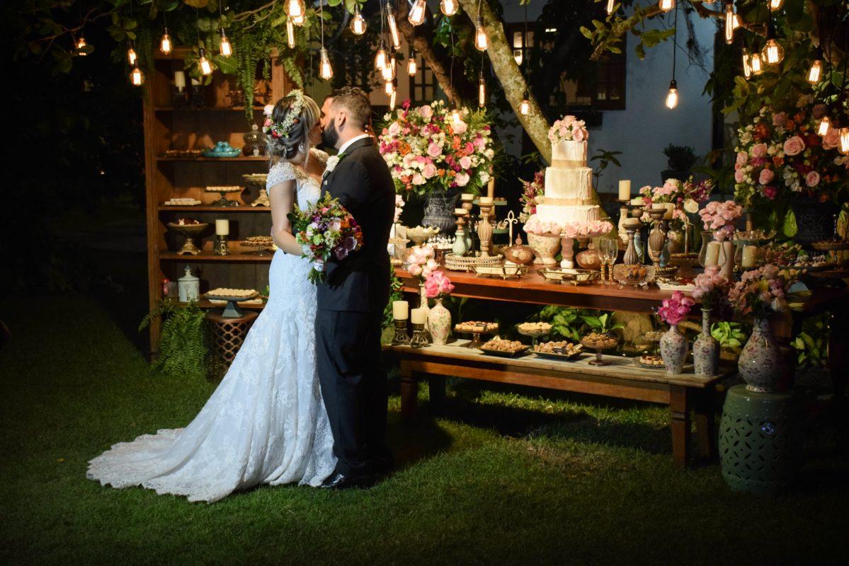 Casamento Boho Chhic dos nossos noivos Ingrid e João